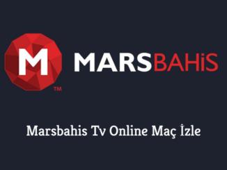 Marsbahis Tv Online Maç İzle